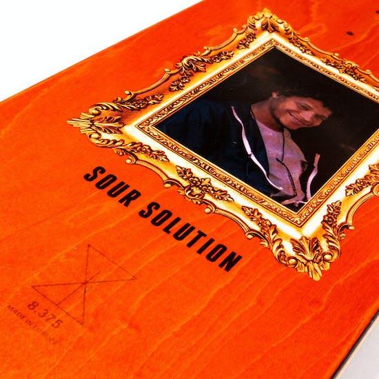 Sour Gustav Love Child 8.375 Inch Skateboard Deck