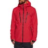 Wear Colour Grid Snow Jacket - Red