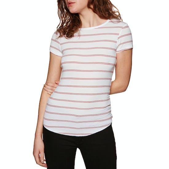 T-Shirt à Manche Courte SWELL Peta Rib