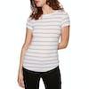 T-Shirt à Manche Courte SWELL Peta Rib - Stripe