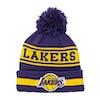 New Era Team Jake Beanie - Los Angeles Lakers