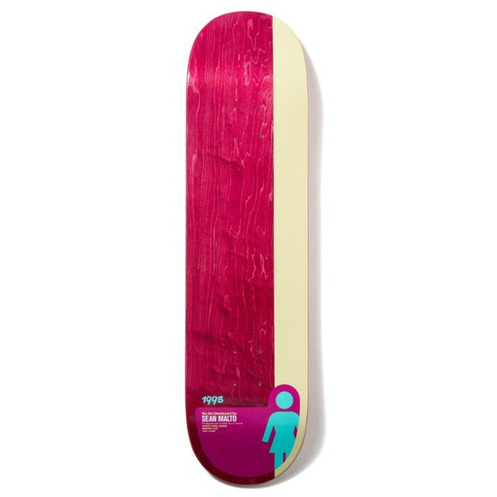Girl Tail Block Sean Malto 8.25 Inch Skateboard Deck