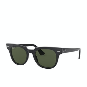 Ray-Ban Meteor Sunglasses - Black~green