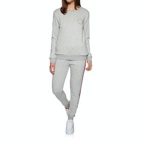 SWELL Harlow Track Walking Pants - Grey Marl