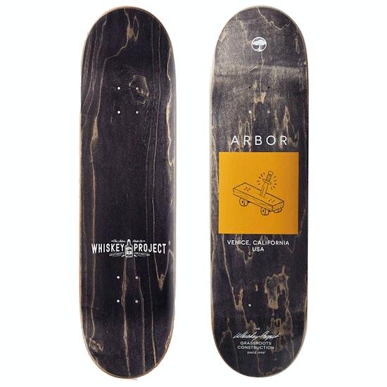 Arbor Whiskey Team 8.5 Inch Skateboard Deck