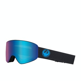 Dragon PXV Snow Goggles - Split ~ Lumalens Blue Ion