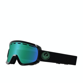 Dragon D1 OTG Snow Goggles - Split ~ LumaLens Green