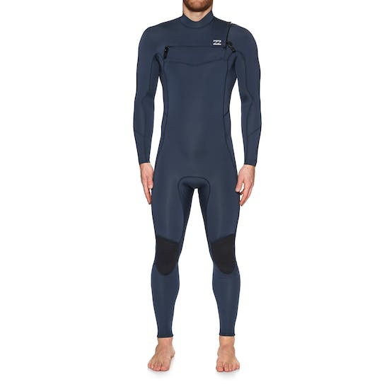Billabong Furnace Absolute Comp 3/2mm 2019 Chest Zip Mens Wetsuit