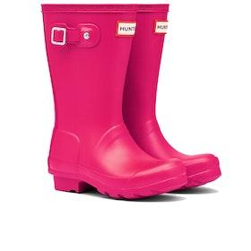 Hunter Original Kinder Gummistiefel - Bright Pink