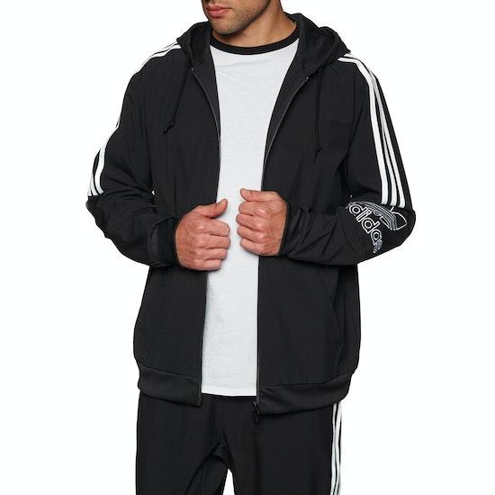 Sweat à Capuche avec Fermeture Éclair Adidas Originals Outline