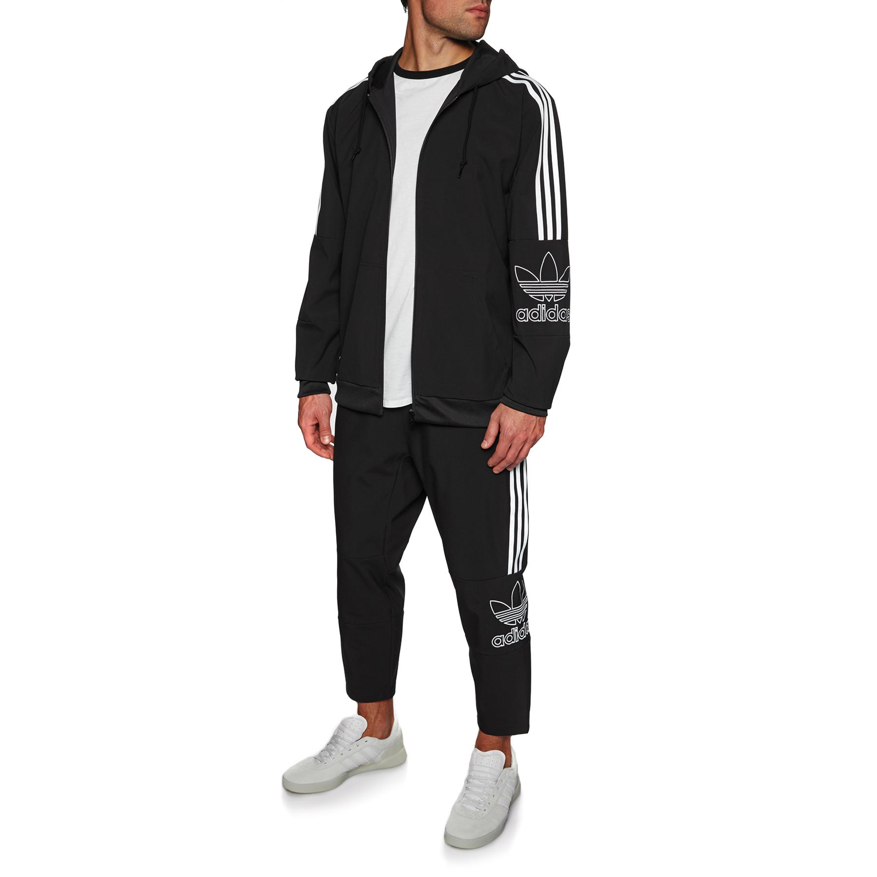 Adidas Originals Outline Kapuzenpullover mit Reißverschluss