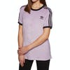 Camiseta de manga corta Mujer Adidas Originals 3 Stripe - Soft Vision