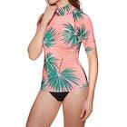 Billabong Surf Capsule Short Sleeve Ladies Rash Vest