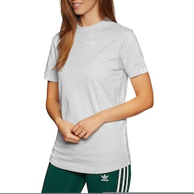 Adidas Originals Coeeze Womens Short Sleeve T-Shirt - Light Grey Heather