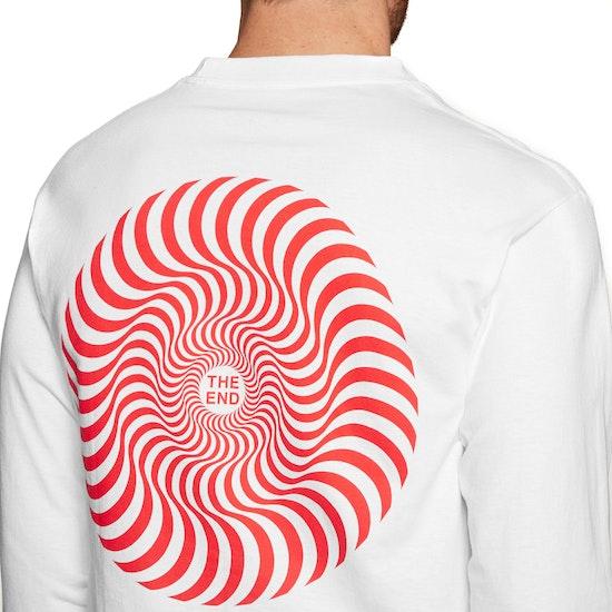 T-Shirt à Manche Longue Spitfire Swirl