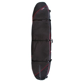 Ocean and Earth Double Coffin 9ft6 Longboard Surfboard Bag - Black