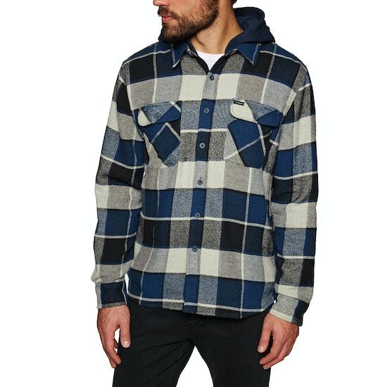 Brixton Bowery Hood Flannel Shirt