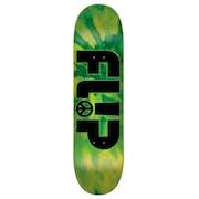 Flip Odyssey Peace Green 8 Inch Complete Skateboard