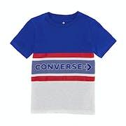 Converse Retro Striped Kids Short Sleeve T-Shirt