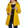 Barbour Inclement Womens Jacket - Canary Yellow Navy