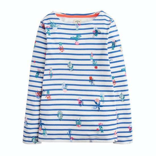 Joules Printed Harbour Jersey Girls Top