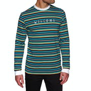 Welcome Surf Stripe Long Sleeve T-Shirt