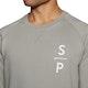 Surf Perimeters Organic Crew Neck The Sp Sweater