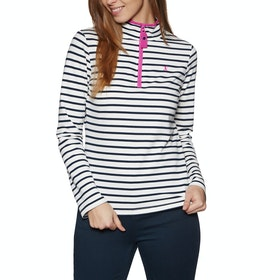 Sudadera Mujer Joules Fairdale - Cream Navy Stripe Pink