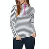 Joules Fairdale Womens Sweater - Cream Navy Stripe Pink