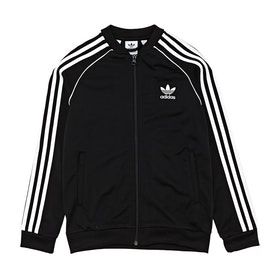 Veste pour Circuit Enfant Adidas Originals Superstar - Black White
