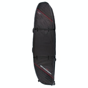 Ocean and Earth Quad Wheel 7ft Shortboard Cover Surfboard Bag - Black