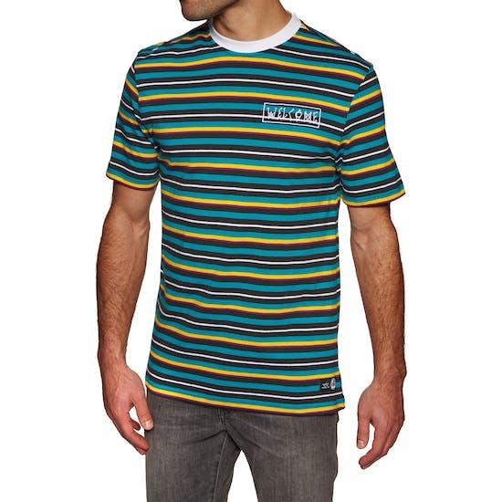 T-Shirt à Manche Courte Welcome Surf Stripe