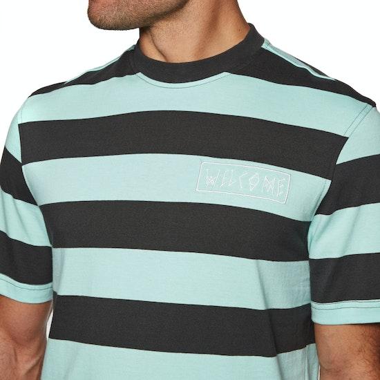 Welcome Big Beautiful Stripe Short Sleeve T-Shirt