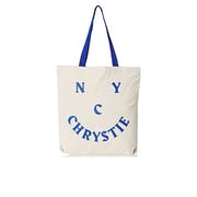 Chrystie Smile Logo Tote Shopper Bag