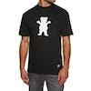 Grizzly Og Bear Short Sleeve T-Shirt - Black