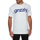 Grizzly Lowercase Short Sleeve T-Shirt