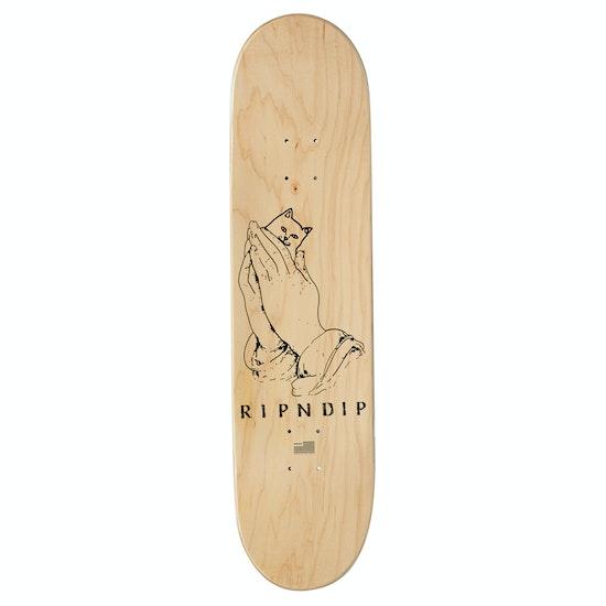 Rip N Dip Lord Nermal Split Veneer 8 Inch Skateboard Deck