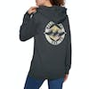 Billabong Revive Womens Pullover Hoody - Off Black