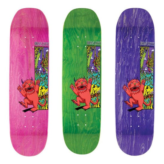 Welcome Lotti Wild Thing On Moontrimmer 2.0 8.5 Inch Skateboard Deck