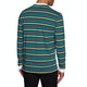 Camiseta de manga larga Welcome Surf Stripe Embroidered Knit
