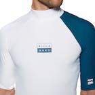 Billabong Contrast Short Sleeve Rash Vest
