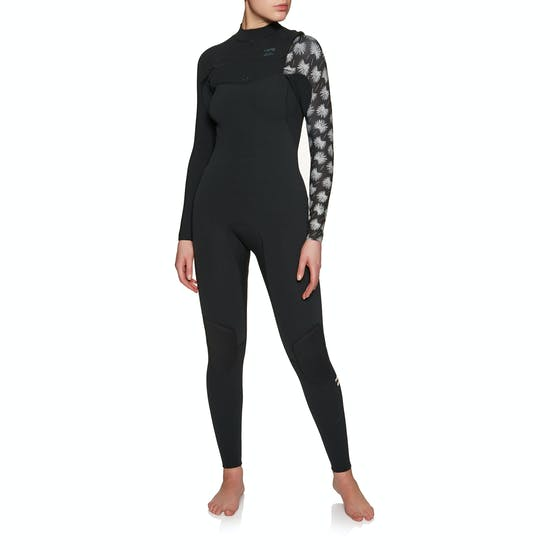 Billabong Furnace Carbon Comp 3/2mm 2019 Chest Zip Ladies Wetsuit