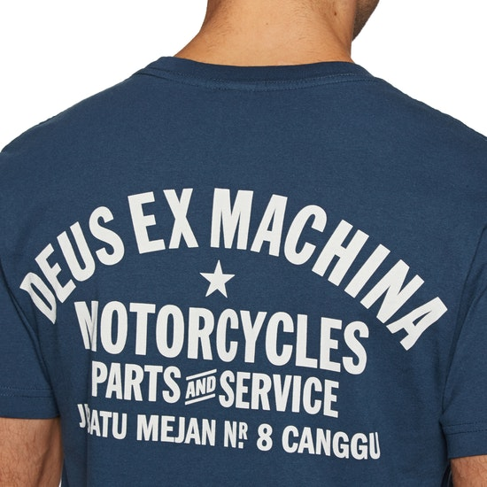 Deus Ex Machina Canggu Address Mens Short Sleeve T-Shirt