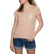 RVCA Mai Tai Rib Ladies Short Sleeve T-Shirt