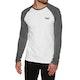 Superdry Orange Label Baseball Long Sleeve T-Shirt