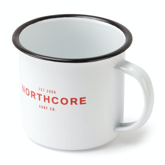 Northcore Adventure Enamel Steel Mug