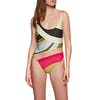 Billabong Sungazer One Piece Womens Swimsuit - Multi