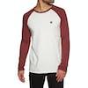 Element Blunt Long Sleeve T-Shirt - Bone White