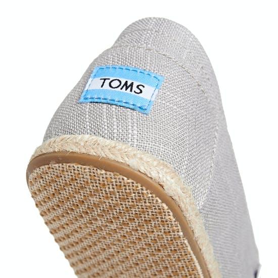 Toms Rope Sole Linen Espadrilles