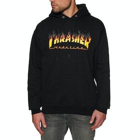 Thrasher Bbq Pullover Hoody - Black